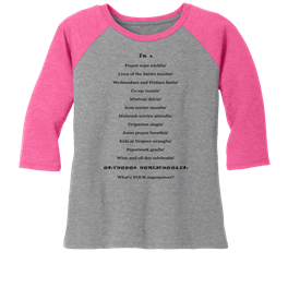 The Orthodox Homeschooling Superpower Tee by Pascha Press
